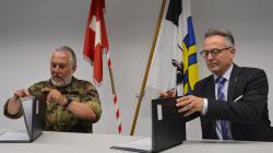 FH Graubünden und Armee bauen Zusammenarbeit aus