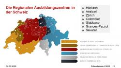 Regionale Polizei Ausbildungszentren in der Schweiz