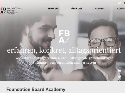 Foundation Board Academy