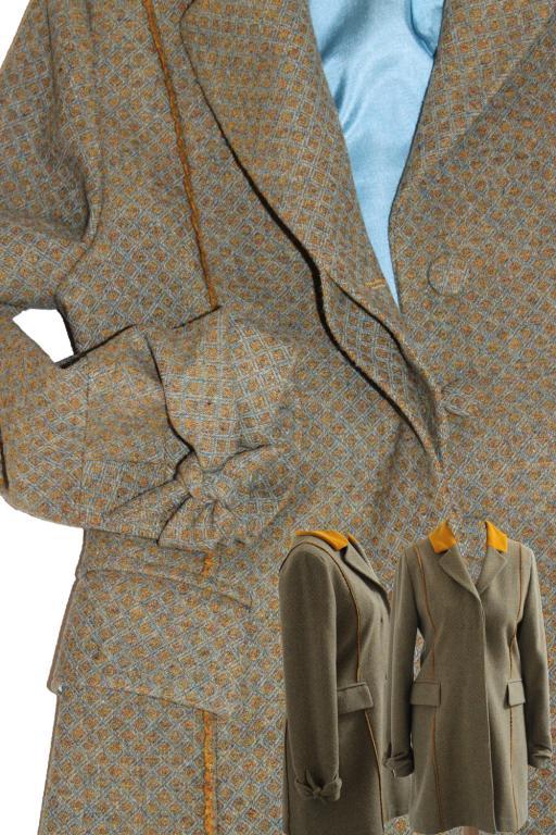 Mantel mit Details